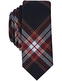 Original Penguin Men's DEMING PLAID Accessory, -navy, One Size