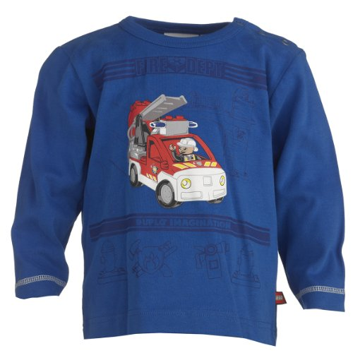 Lego Wear Baby-Jungen Sweatshirt 13965 TINO 703-T-SHIRT L/S, Gr. 86, Blau (560 STRONG BLUE)