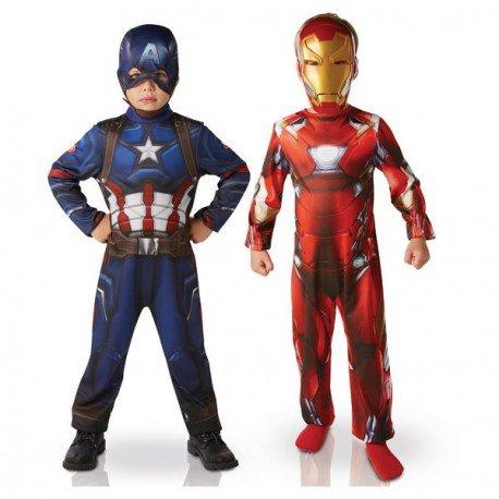 Iron Man und Captain America Kostüme für Kinder (Cooles Captain America Kostüm)