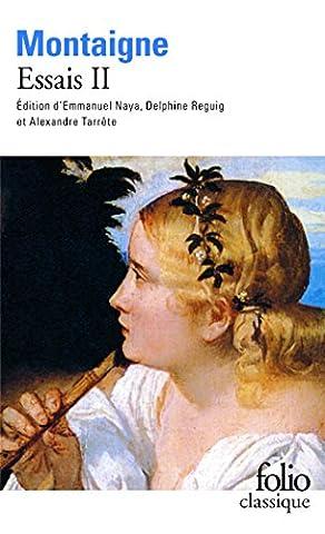 Montaigne Essais Livre 1 - Essais (Tome 2-Livre