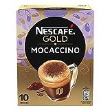 Nescafé Gold Mocaccino Preparato Solubile per Caffè al Cacao Astuccio 10 Bustine, 88 g