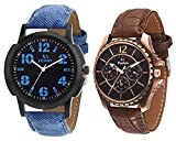 x5 Fusion combo of Men's watch BLUE JEAN...