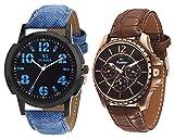 x5 Fusion combo of Men's watch BLUE JEAN...
