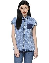SF Jeans by Pantaloons Women's Denim Shirt