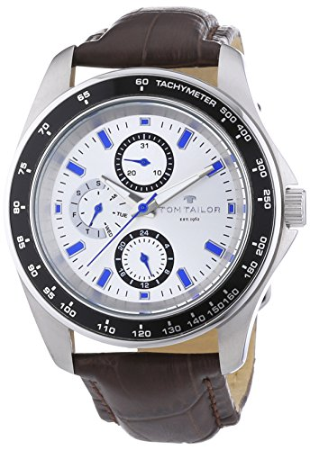 Tom Tailor - 5413302 - Montre Homme - Quartz - Analogique - Bracelet Cuir Marron