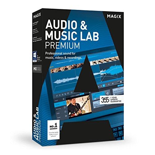 MAGIX Audio & Music Lab 2017 Premium – Professional sound for music, video and audio recordings Test