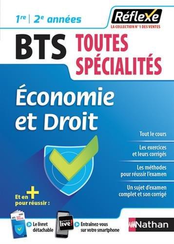 Economie et Droit BTS 1re/2e années par Collectif