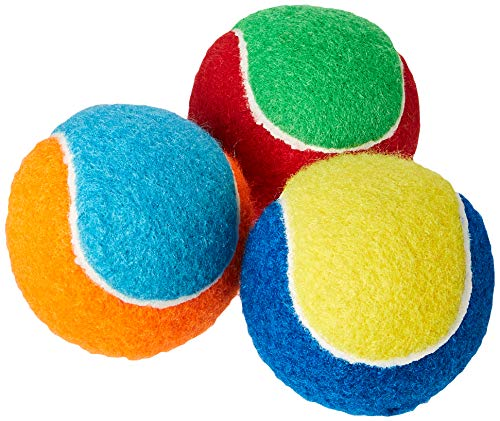 Petface Quietschender Tennisball, dreiteilig