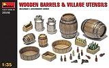 MiniArt 35550 - Botti in legno e utensili per la vita in campagna - Mini Art - amazon.it