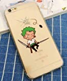 Coquefone Coque iPhone 7 et iPhone 8 Luffy One Piece Roronoa Zoro Manga