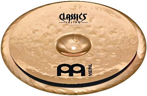Meinl Cymbals CC16/18EMS-B Classics Custom Extreme Metal Serie 40,6 (16 Zoll) bis 45,7 cm (18 Zoll) Stack Brilliant -