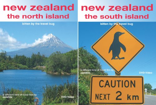 by the travel bug - a different kind of travel film. North and South Island on two DVDs. ()