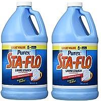 Purex StaFlo Liquid Nspia Starch 64 Ounce 2 Pack Sgdfa