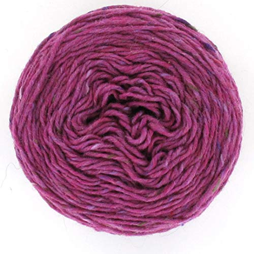 Next Yarns Chunky Tweed 100g Farbe 34816 fuchsia -