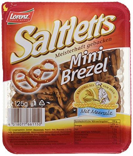 Lorenz Saltletts Mini Brezel, 150 g