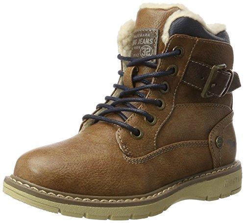 Mustang Unisex-Kinder 5017-624-301 Stiefel, Braun (Kastanie), 39 EU
