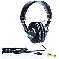 Sony MDR-7506 - Auriculares de diadema cerrados (reducción de ruido, 3.5 mm), negro