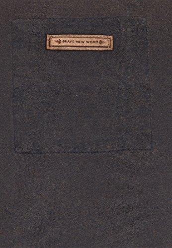 Naketano Male T-Shirt Tambowskaya II Heritage Dark Blue