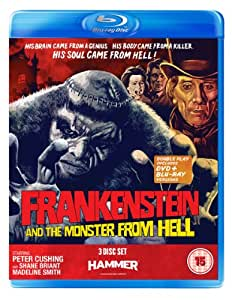 Frankenstein And The Monster From Hell( 2 DVD + 1 Blu-Ray)