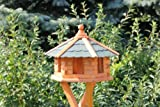 Vogelhaus, Vogelhäuschen aus Holz Typ 1 (grün)