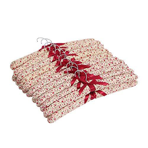 Maochen Kleiderbügel Schlafzimmer Kleiderschrank Mäntel Bekleidungsgeschäft Kleiderbügel Rutschfeste Non-Marking Haushalts-Kleiderständer 20 Sticks -