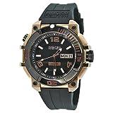 Nautec No Limit Herren-Armbanduhr XL Ultimate Ocean Analog Quarz Kautschuk UO-B QZ/RBRGIPBK-RG
