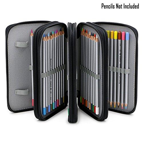 sumnacon-72-trous-trousse-sac-de-crayon-pour-lecole-et-bureau-avec-grand-capacite-multi-couches-noir