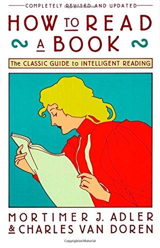 Buchseite und Rezensionen zu 'How to Read a Book' von Mortimer J. Adler
