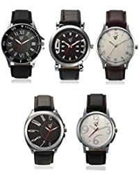 Rico Sordi Analogue Multi-Colour Dial Men's Combo Of 5 Watch -Rsd18_L5_1
