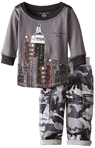 ngen Outfit langarm T-Shirt + Hose NY City Manhatten Design 86 (Hello Kitty Outfit)