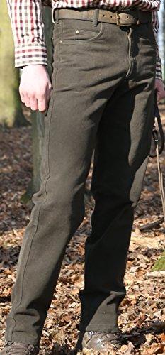 Preisvergleich Produktbild Rascher Loden Stretch Jeans Jagdhose Revierhose Ansitzhose dunkles grün-braun, Herren (Gr. 50)