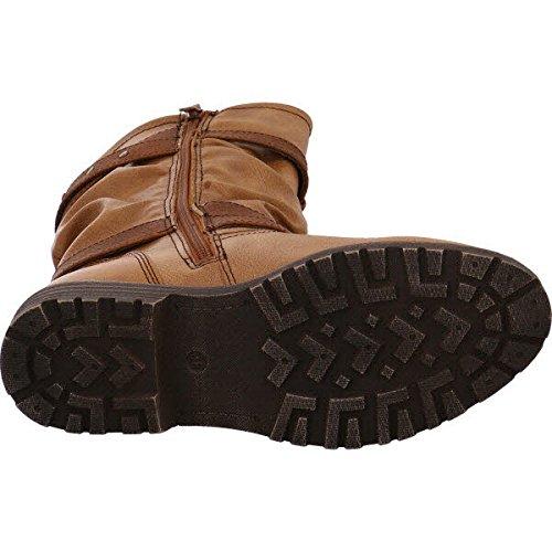 BM Footwear 1642007 Cognac, Bottes pour Femme cognac