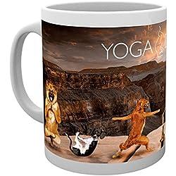 GB eye LTD, Yoga, Perros en el Cañon, Taza
