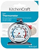 KitchenCraft Stainless Steel Oven Thermometer, 6.5 x 8 cm (2.5
