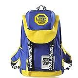 HZB Sekundarschule Schultasche Freizeit Mode Doppelter Schulter Rucksack