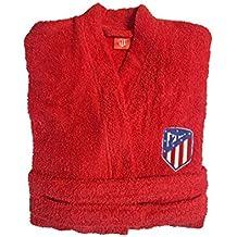 Atlético de Madrid. Albornoces con Licencia Oficial del Club.Unisex Algodón 100% (