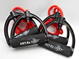 MET-RX 180 LEVEL 1 RESISTANCE EXERCISE BANDS (Set of 2),45 inches