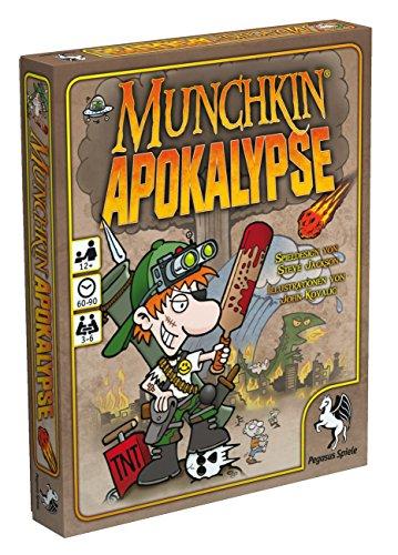 Pegasus-Spiele-17240G-Munchkin-Apokalypse Pegasus Spiele 17240G – Munchkin Apokalypse -