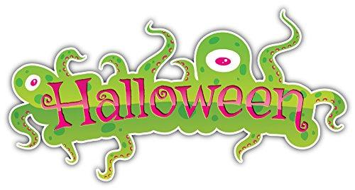 Halloween Slogan Bumper Sticker Vinyl Art Decal for Car Truck Van Window Bike Laptop