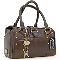 Catwalk Collection Leather Handbag - Claudia