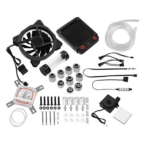VBESTLIFE Computer Wasserkühler Set,PC Wasserkühlung Kit,Wasserkühlung Sets und Systeme(Set RG-232)