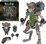 Funko- Action Figure: Rick & Morty: Pickle Rick, Multicolore, 29783