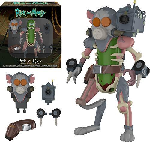 Rick and Morty Pickle Rick Figura De Acción