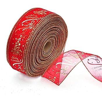 Hosaire Ruban Rouleau en Jute Vintage D/écoration Motif flocon de neige Ruban Artisanat DIY pour travaux manuels//Mariage//Scrapbooking//emballage de cadeaux//d/écorations de No/ël 4cm*1m