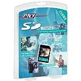 PNY 256 MB SD Secure Digital Flash Memory Card