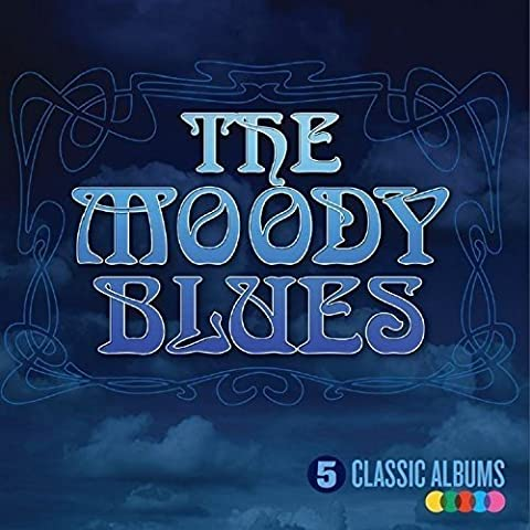 Moody Blues Cd - 5 Classic Albums [Import