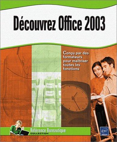 Découvrez Office 2003