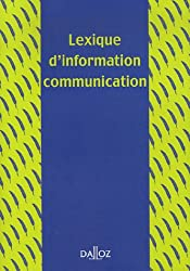 Lexique d'information communication