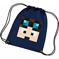c7617ca8aed8 Dantdm Dan The Diamond Minecart Face Player Skin Youtuber Gym Bag. See  Colour Options