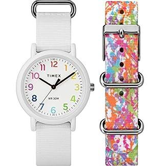 Timex Reloj Análogo clásico para Mujer de Cuarzo con Correa en Nailon TWG018200